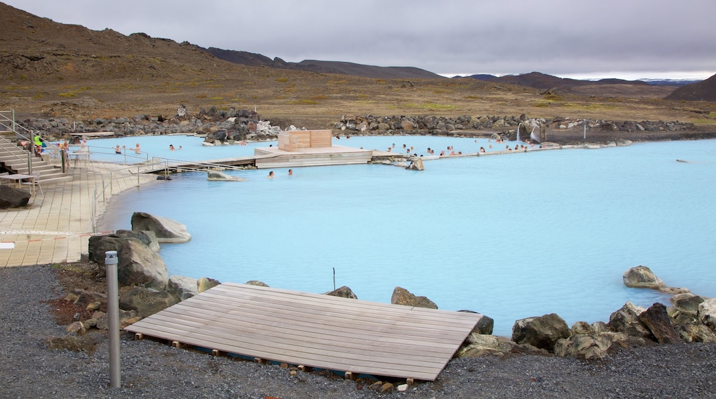 Myvatn Naturbade som omfatter et luksushotel eller -resort og en varm kilde