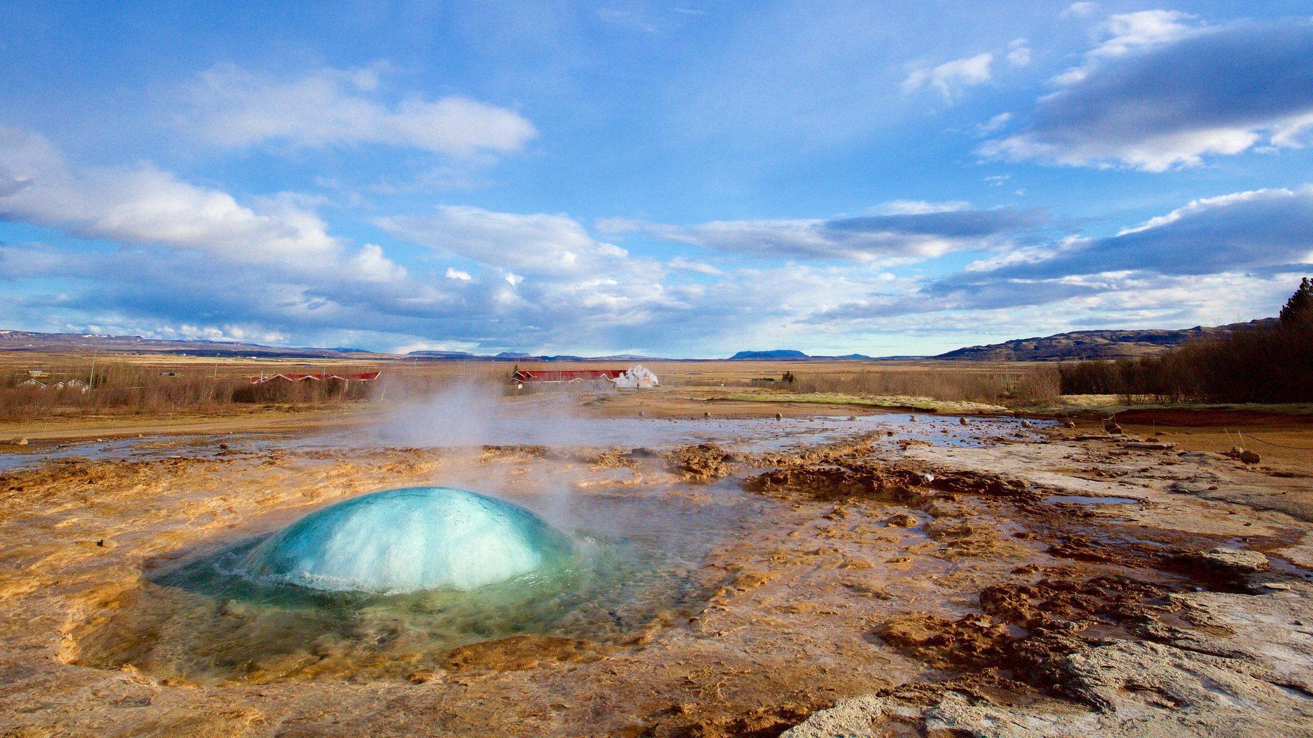 Geysir Hot Springs, Bláskógabyggd, Southern Region, Iceland