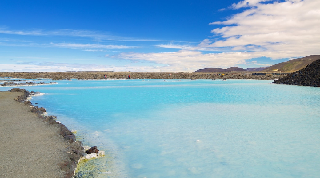 Blue Lagoon which includes a hot spring