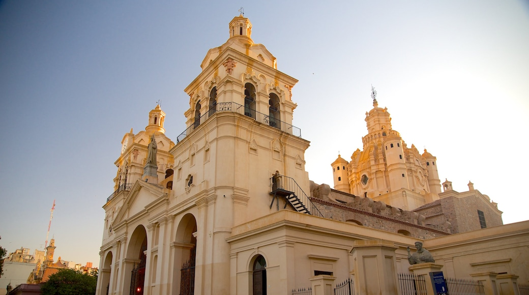 Cordoba Cathedral showing heritage architecture