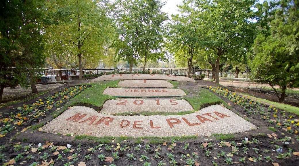 Mar del Plata caratteristiche di giardino e monumento