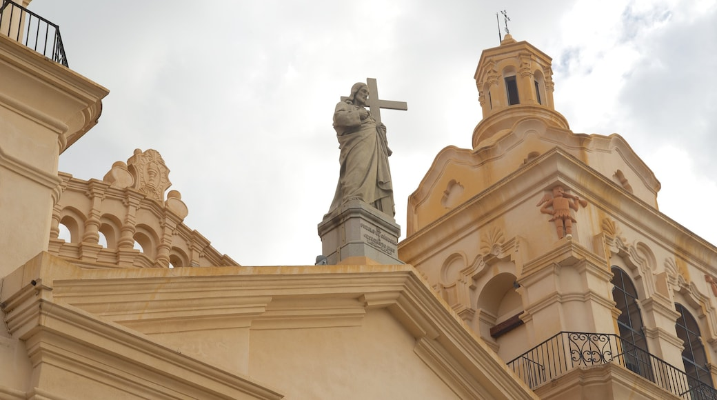 Cordoba Cathedral featuring a church or cathedral, religious aspects and heritage architecture