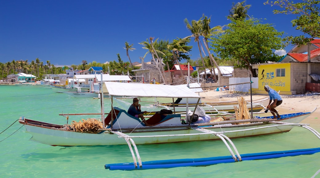 Logon featuring boating and general coastal views