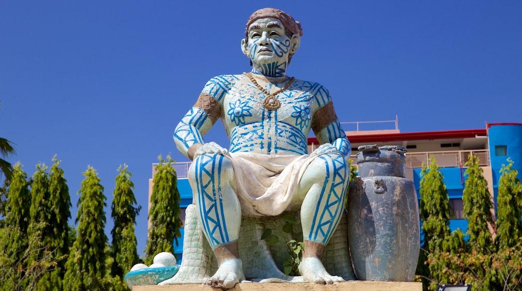 세부시티 을 특징 동상 또는 조각상