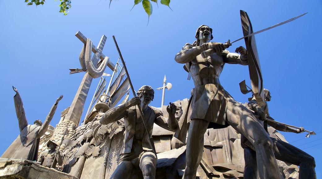 세부 유물 기념관 을 특징 동상 또는 조각상