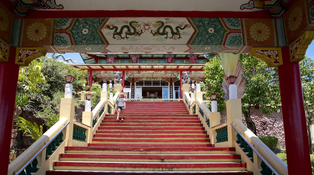 Philippines Taoist Temple featuring a temple or place of worship and religious elements