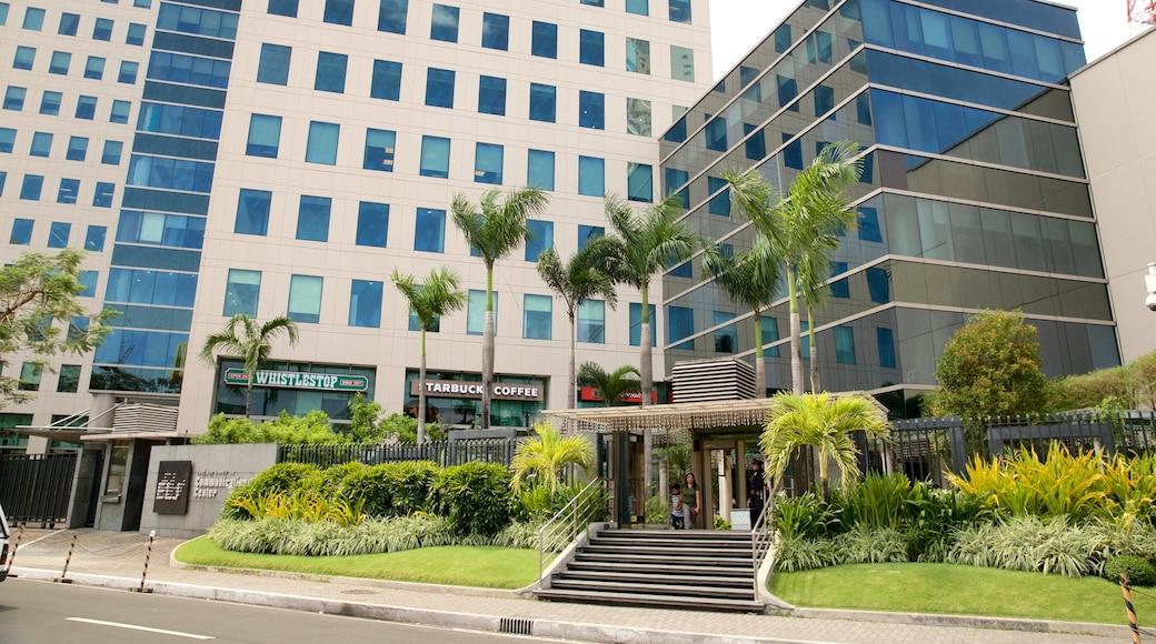 Quezon City showing a park