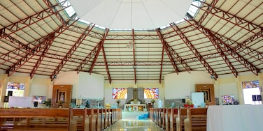 Sogod showing modern architecture, interior views and a church or cathedral