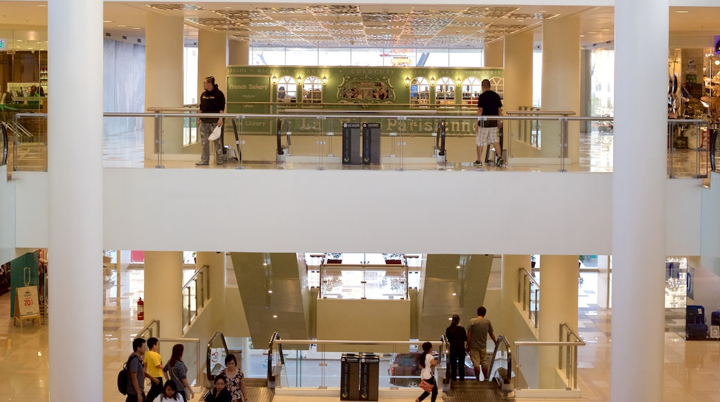 Ayala Center which includes interior views