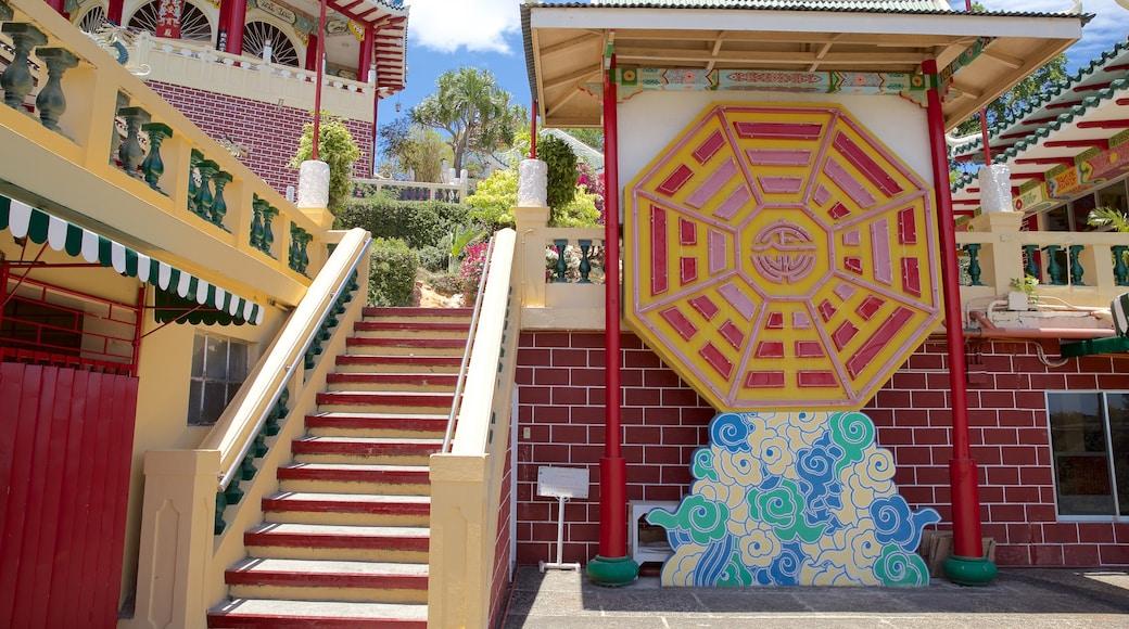 Philippines Taoist Temple featuring outdoor art