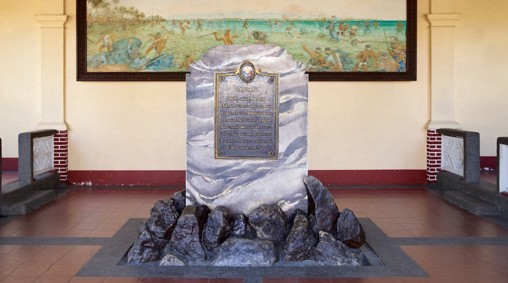 Magellan Shrine which includes a monument