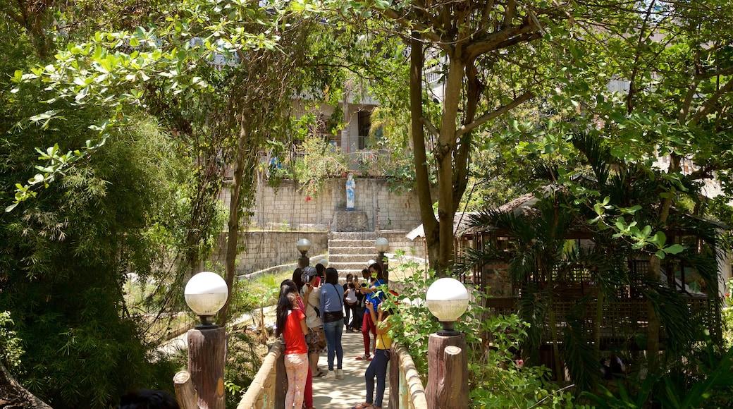 Tempio di Simala che include paesaggio forestale
