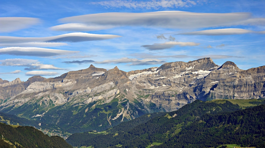 Les Diablerets showing mountains