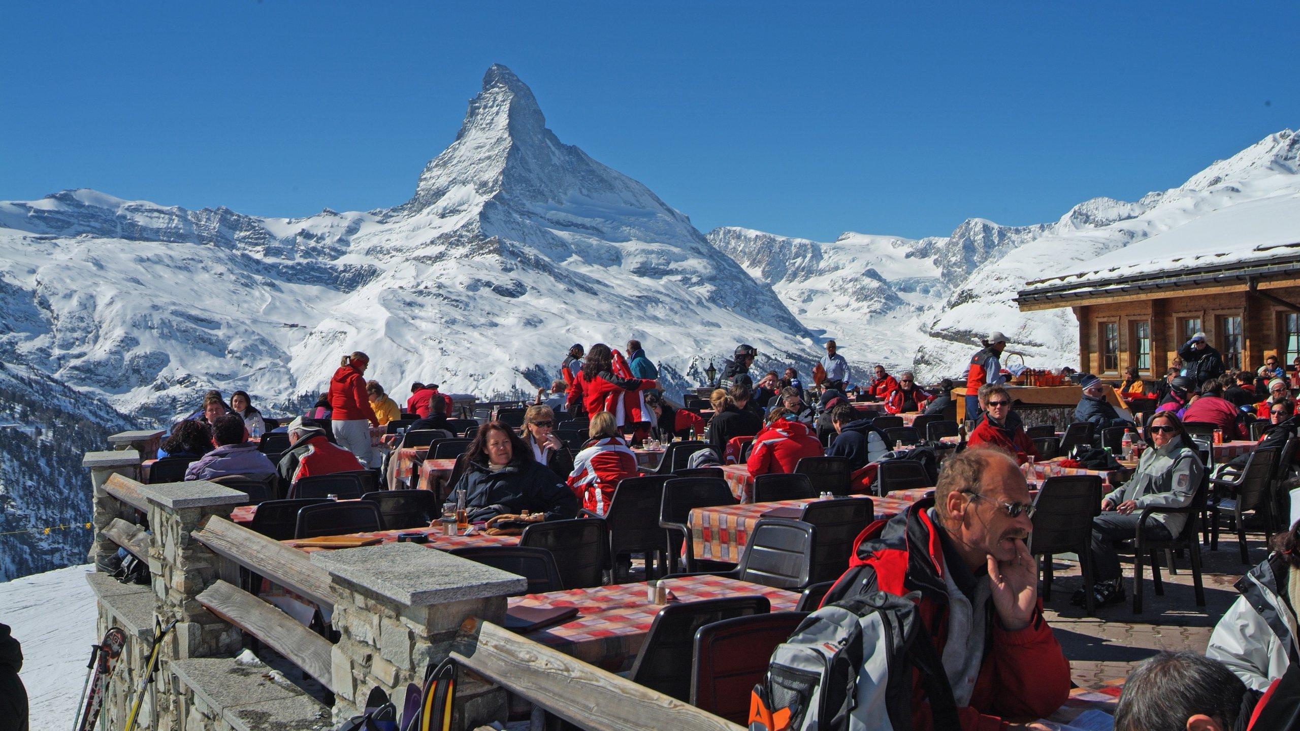 Sunnegga Ski Resort, Zermatt, Valais, Switzerland