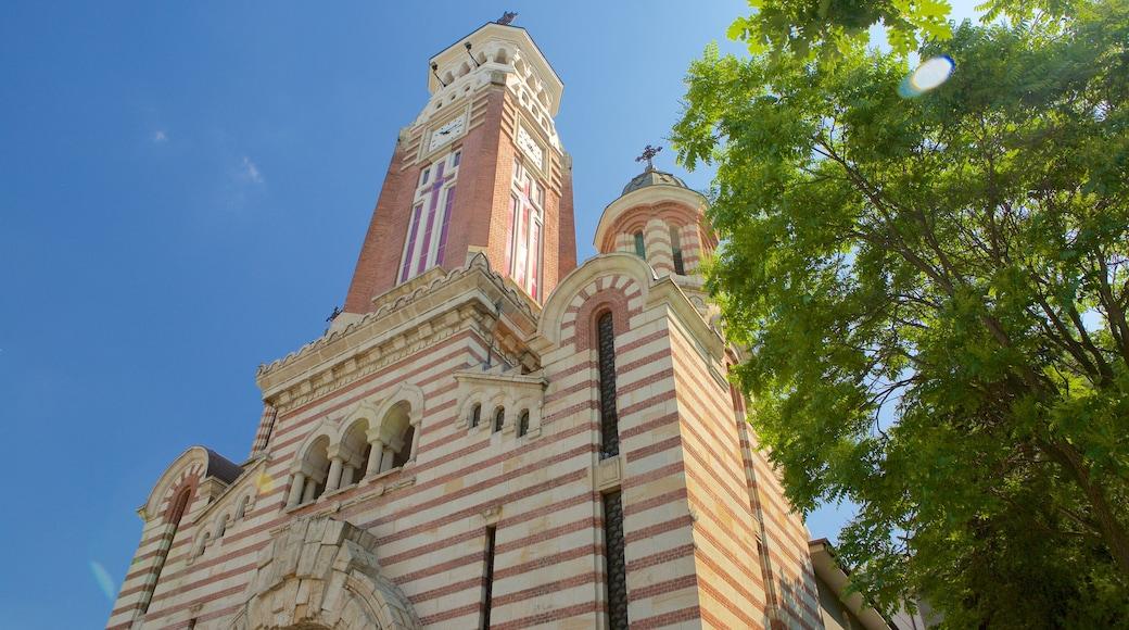 Ploiesti qui includes aspects religieux, patrimoine architectural et église ou cathédrale