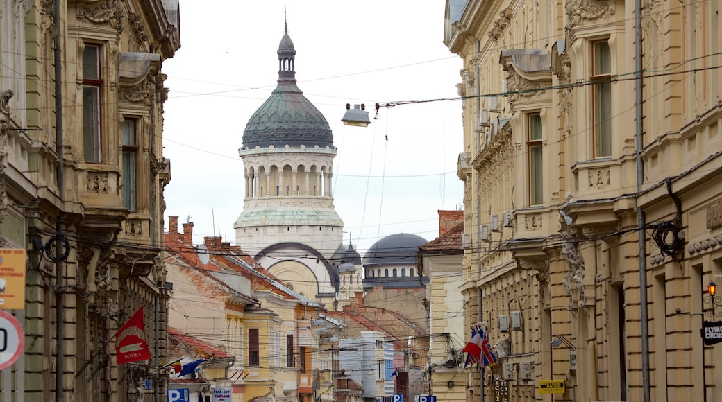 Cluj-Napoca showing heritage architecture