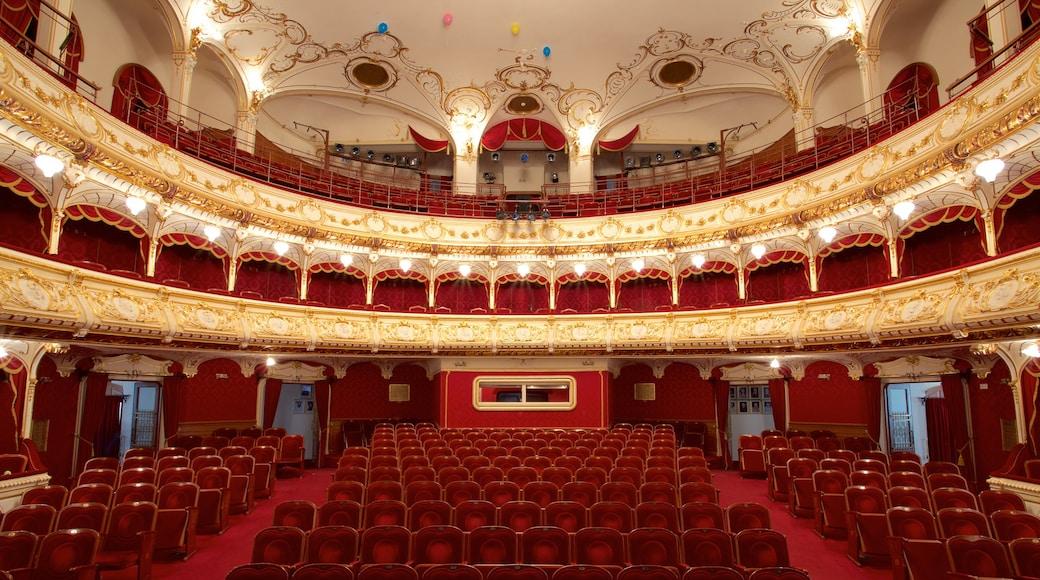 State Theatre showing theatre scenes and interior views