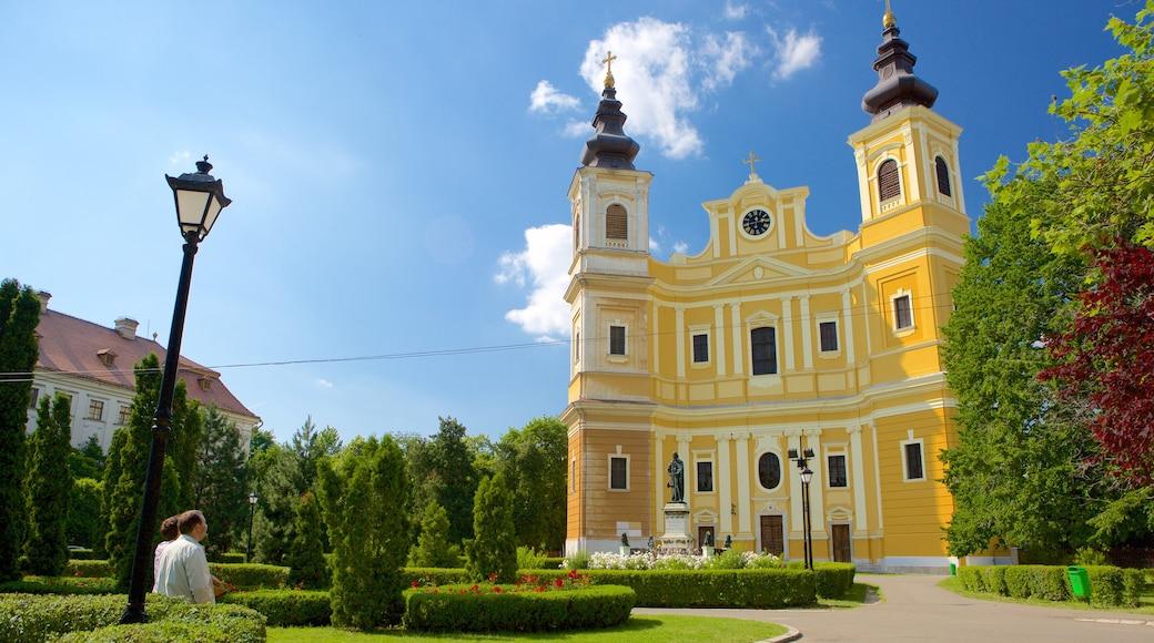 Roman Catholic Basilica featuring a park
