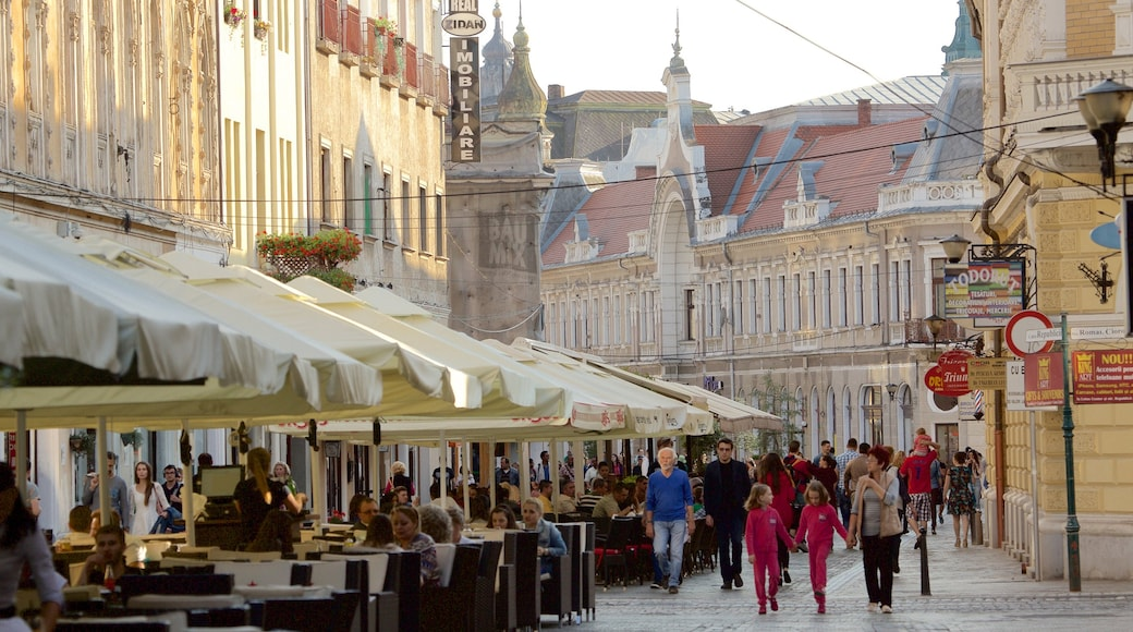 Oradea as well as a large group of people
