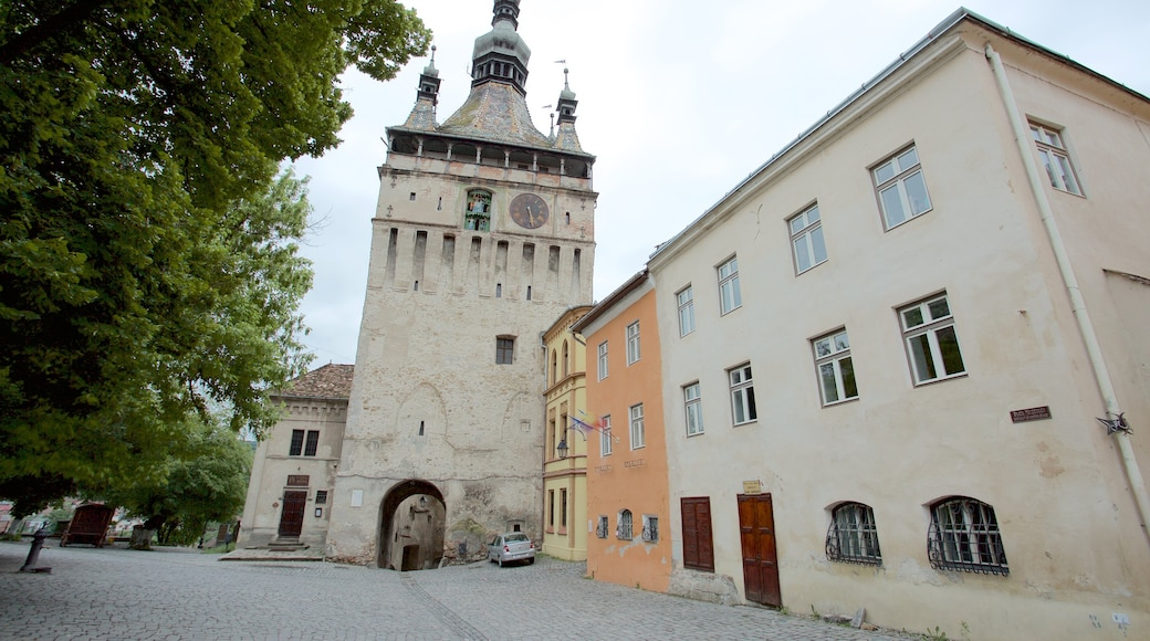 Clock Tower featuring heritage architecture