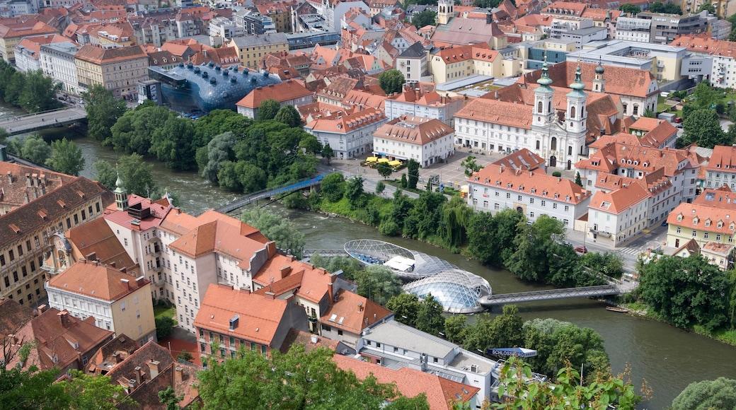 Graz und Umgebung mit einem historische Architektur