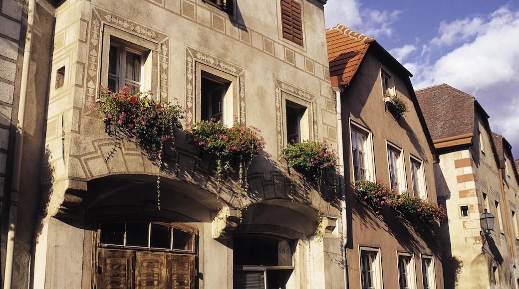 Krems an der Donau toont een huis en historische architectuur