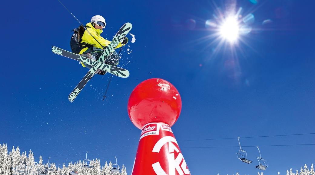 Westendorf das einen Skifahren
