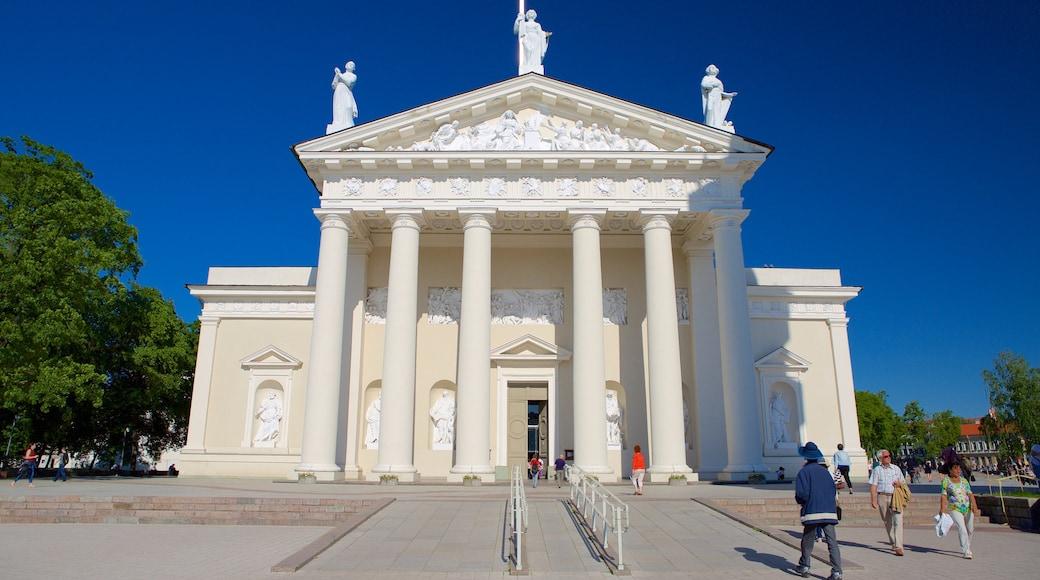 Vilnius som inkluderer administrativ bygning