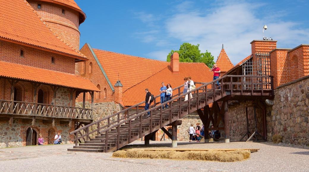 Castello dell\'isola Trakai caratteristiche di castello