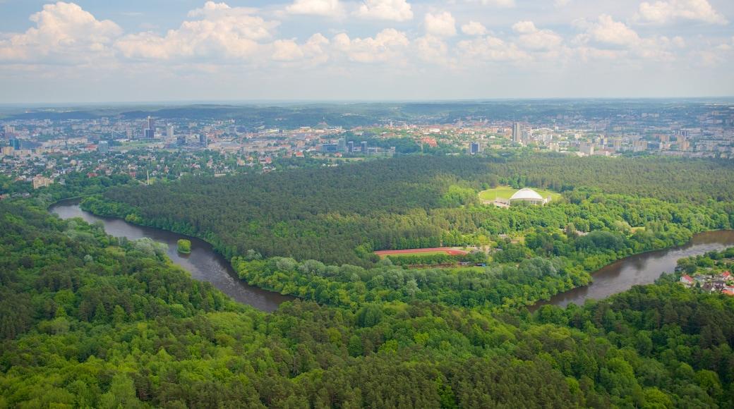 Vilnius TV Tower featuring landscape views