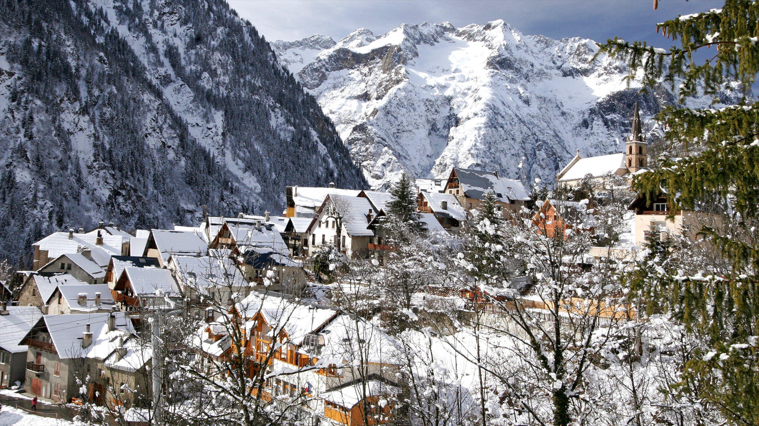 Les Deux Alpes, Isere, France