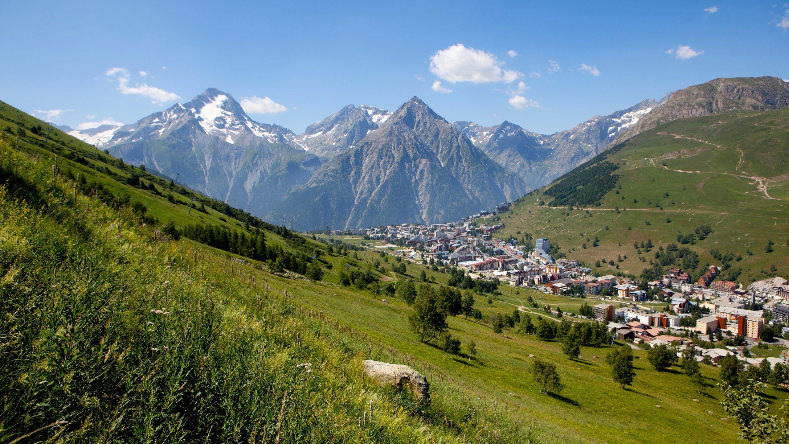 Mont-de-Lans, Les Deux Alpes, Isère, Frankrijk