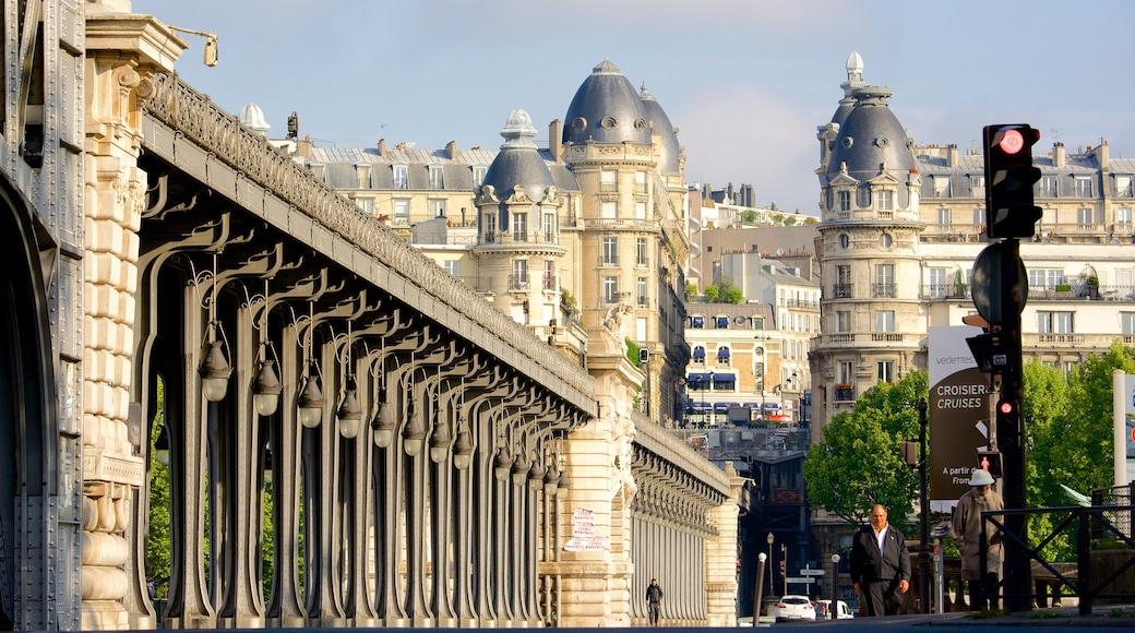 15° Arrondissement caratteristiche di architettura d\'epoca