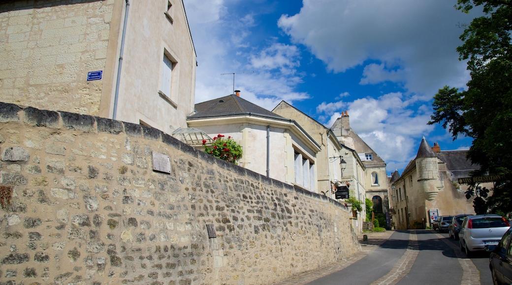 Département Indre-et-Loire das einen Kleinstadt oder Dorf