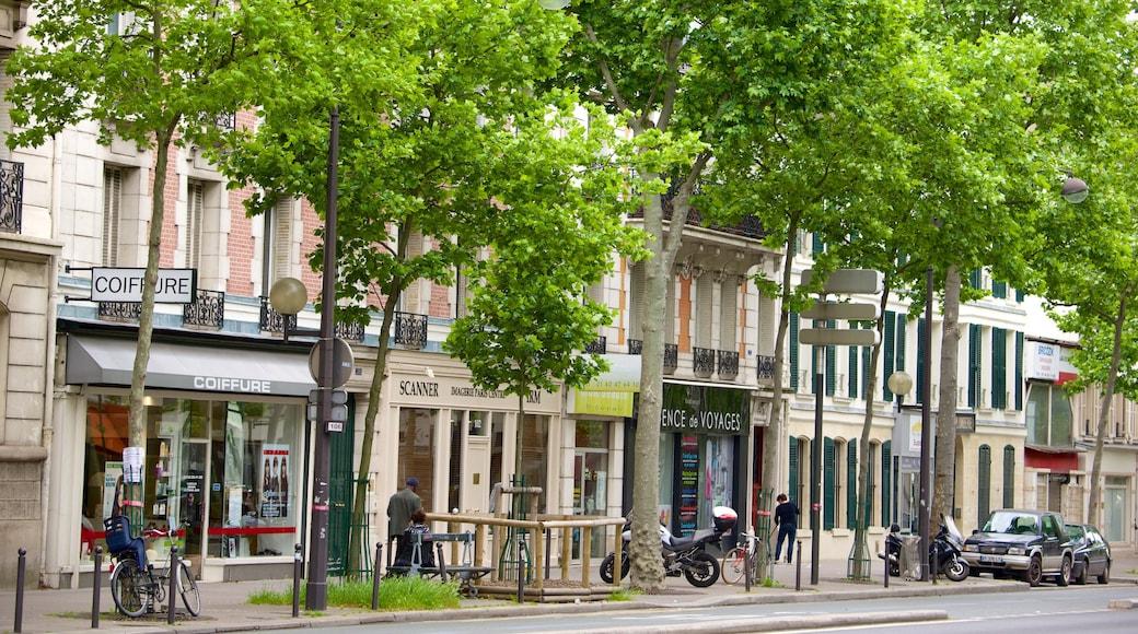 Montparnasse que incluye una ciudad