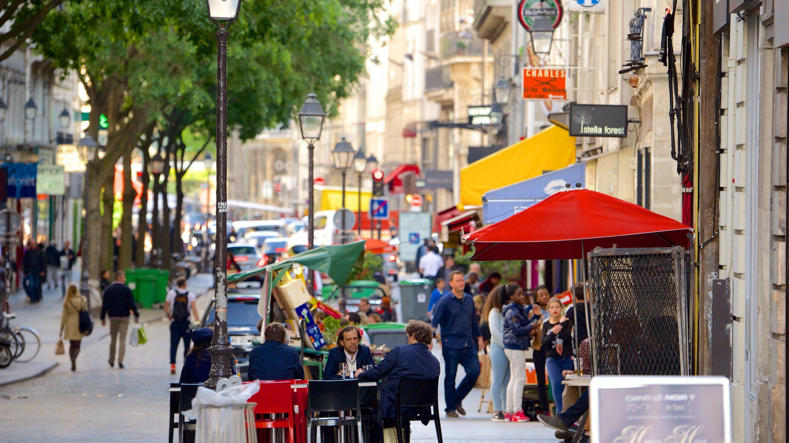 Quartier du Mail, Paris, France