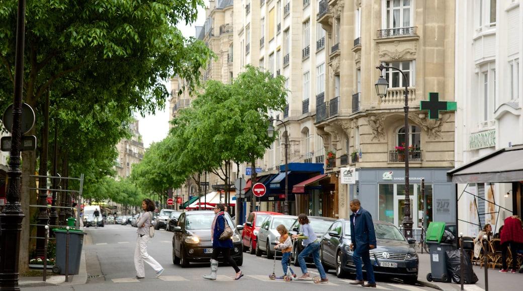 3° Arrondissement mostrando città e strade