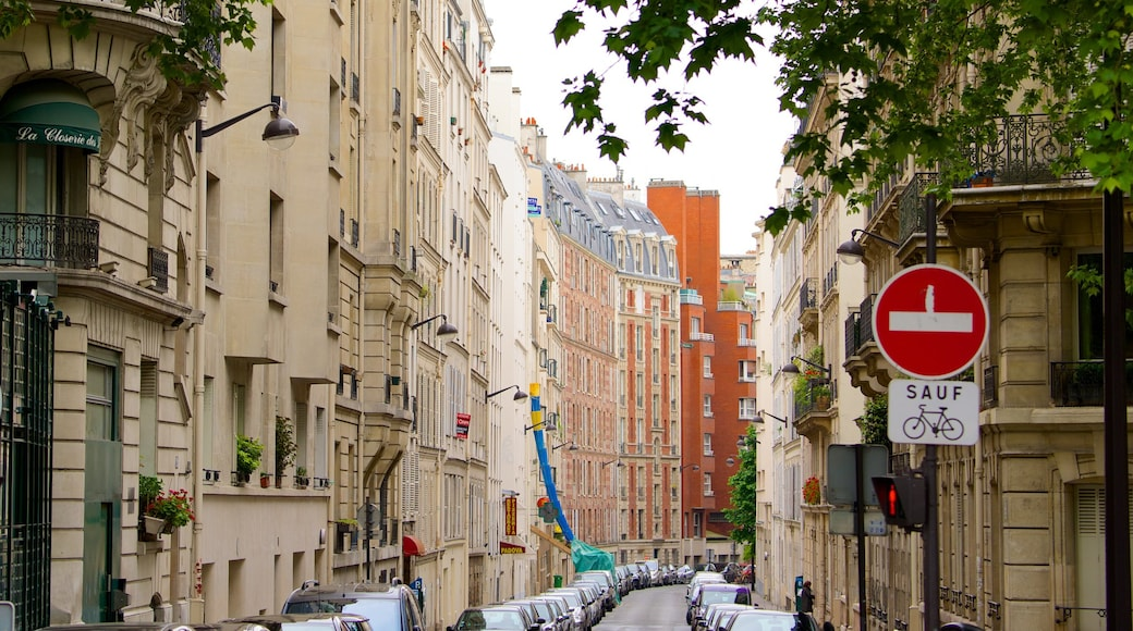 VI Distrito mostrando elementos patrimoniales, una ciudad y escenas cotidianas
