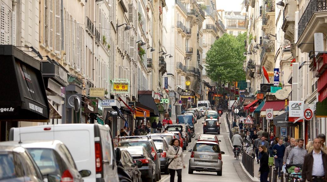 9° Arrondissement caratteristiche di strade e città
