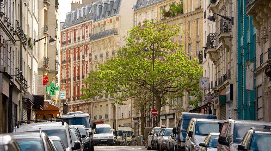 10° Arrondissement caratteristiche di città e strade