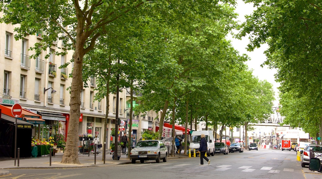 15° Arrondissement mostrando strade e città