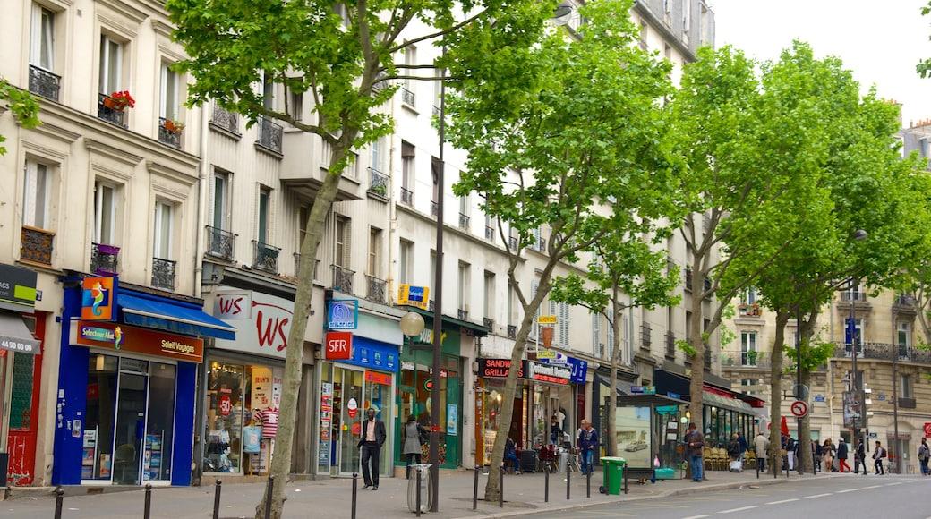 17° Arrondissement che include città e strade