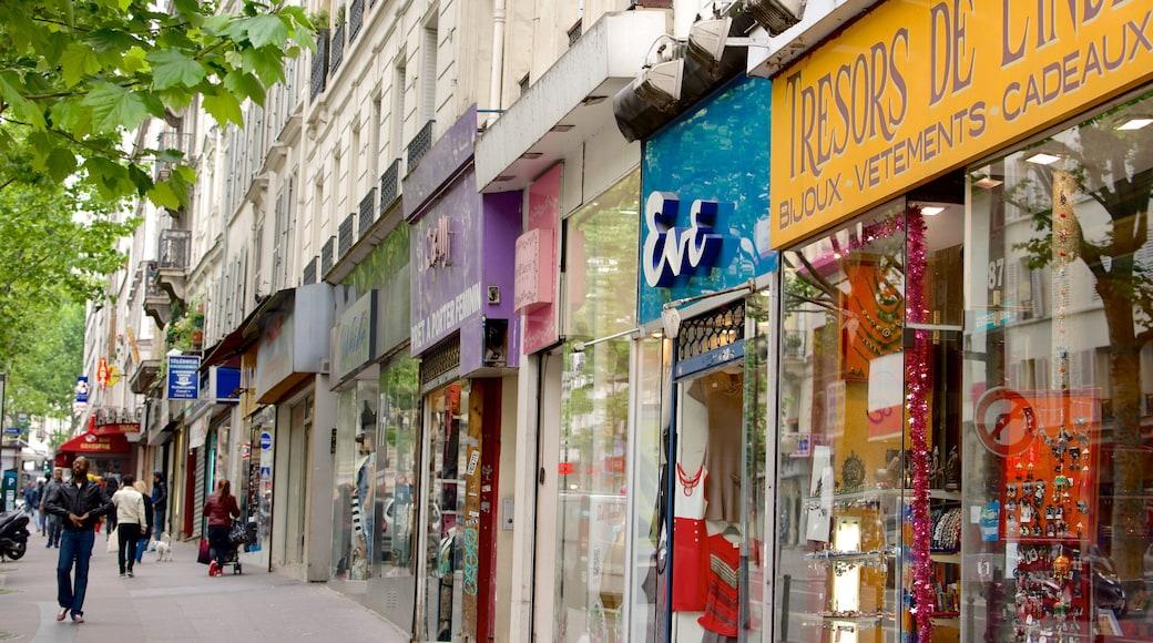 17° Arrondissement caratteristiche di shopping, strade e città