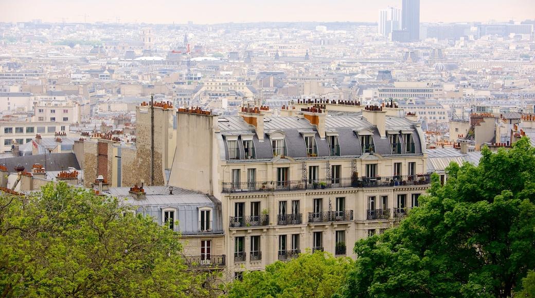 18e arrondissement montrant silhouettes urbaines et ville
