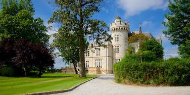 Chateau Pape Clement which includes a castle and a garden