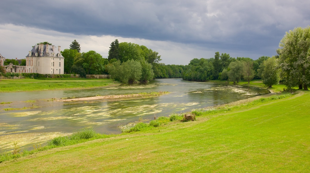 Selles-sur-Cher featuring a river or creek and tranquil scenes
