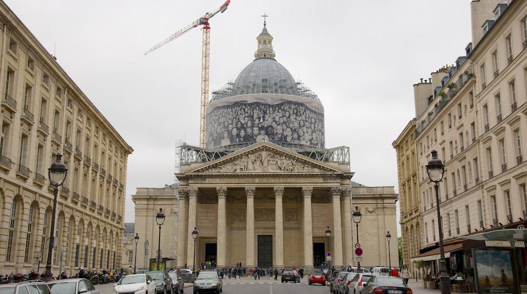 Quartier Latin - Panthéon qui includes scènes de rue, patrimoine architectural et mémorial