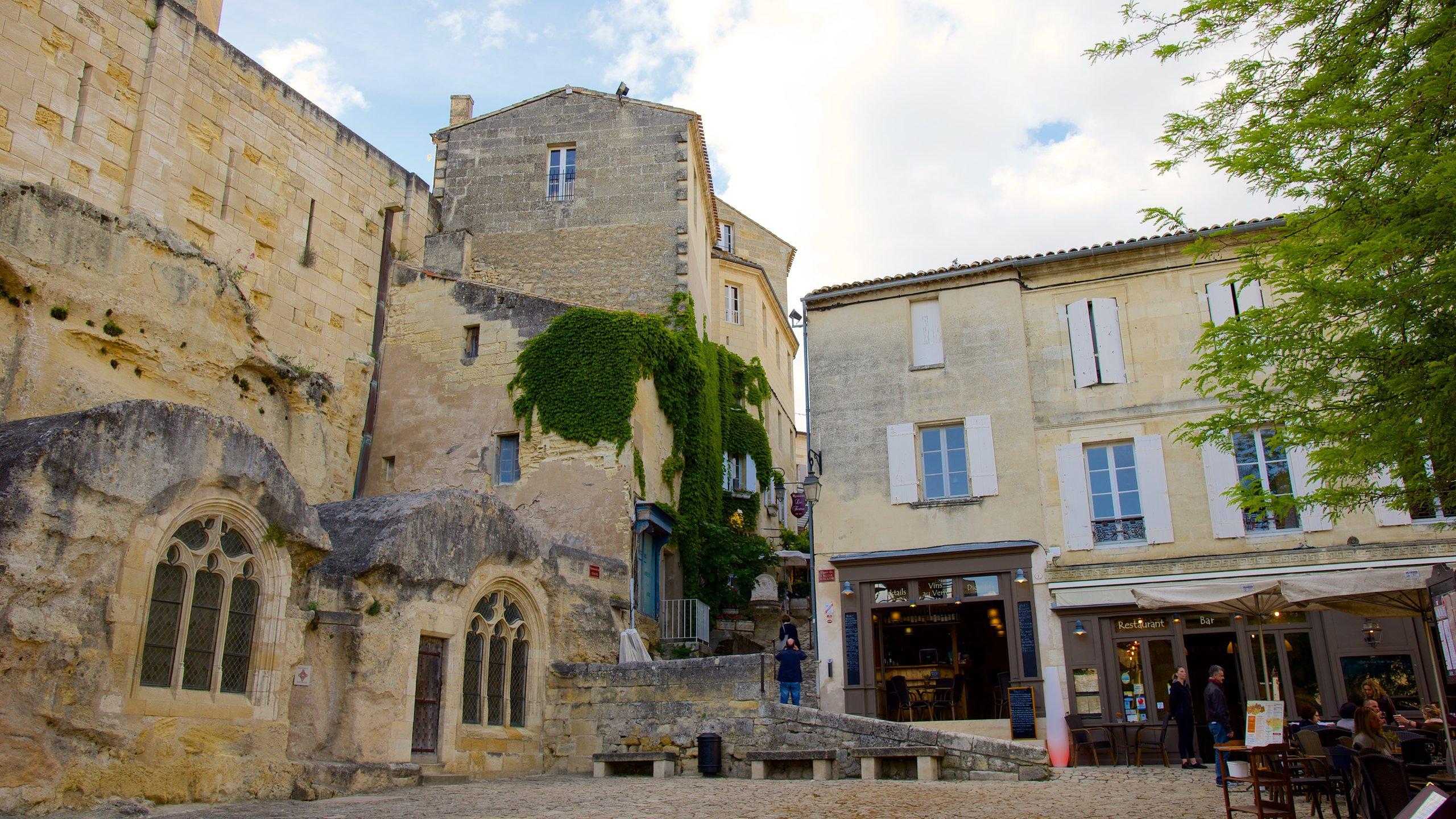 Saint-Emilion Monolithic Church, Saint-Émilion, Gironde, France