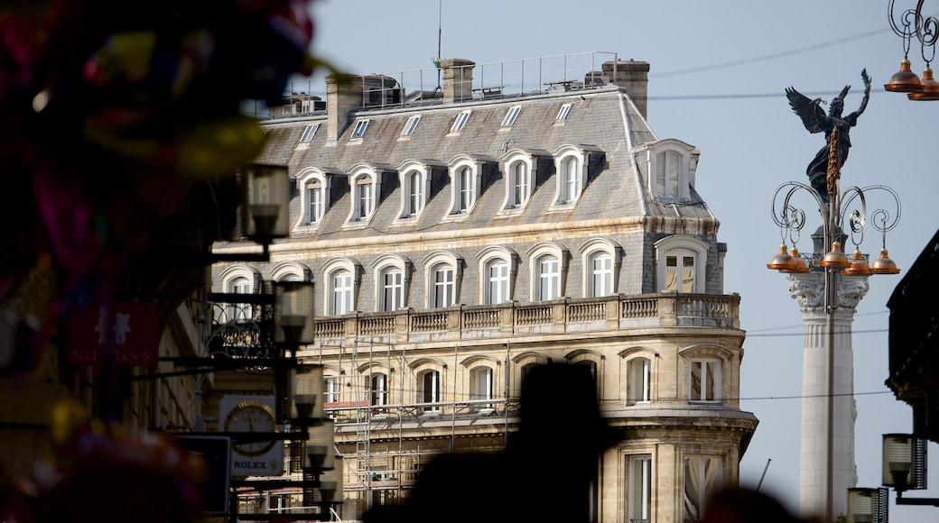 Bordeaux showing heritage architecture