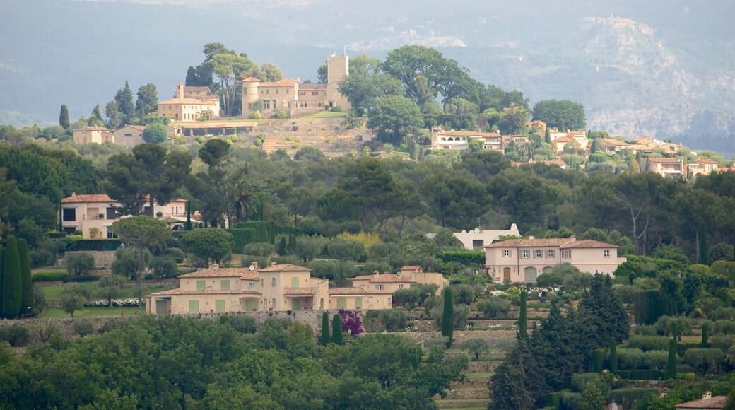 Mougins welches beinhaltet Kleinstadt oder Dorf